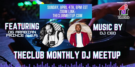 TheClub Monthly DJ Meet-Up tickets