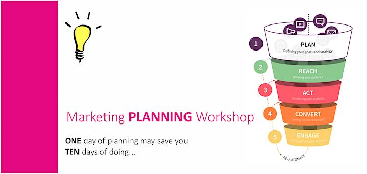 Marketing PLANNING Workshop image
