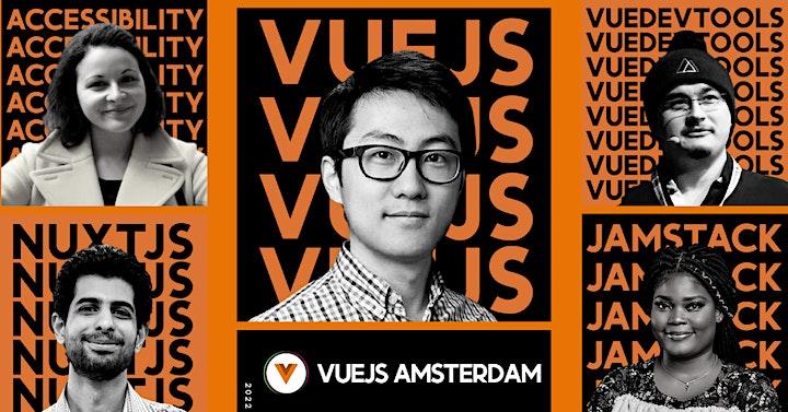 Afbeelding van Vuejs Amsterdam 2022 - 5 year anniversary