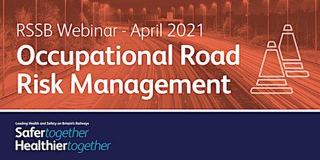 LHSBR: Occupational Road Risk Management tickets