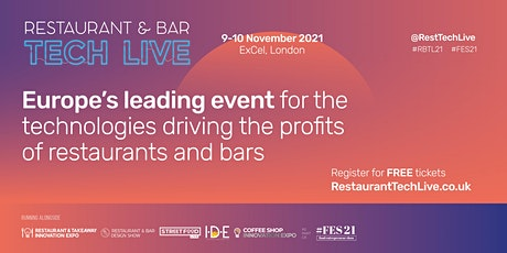 Restaurant & Bar Tech Live tickets
