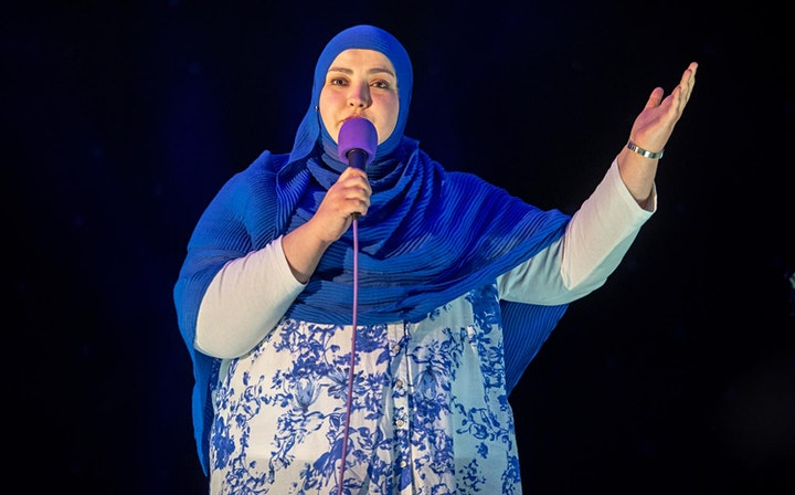 Stand-up comedy LIVE online with Nabil Abdulrashid and Fatiha El-Ghorri image