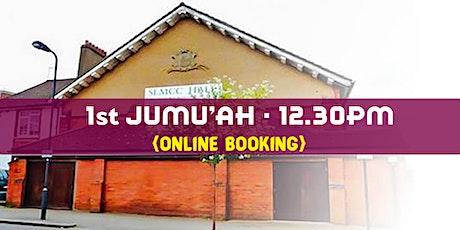 1st Jumu'ah Prayer|12:30PM|12th March 2021|English|Ustadh Mohamed Nizamdeen tickets