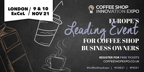 Coffee Shop Innovation Expo tickets