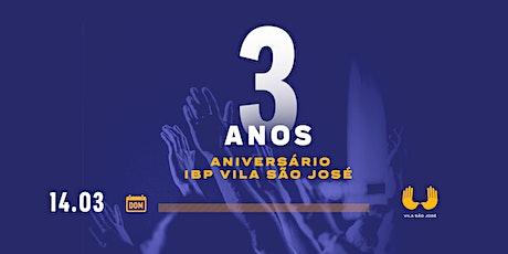 INSCRIÇÃO CULTO DA FAMÍLIA  - 18H00 ÀS 19H30 ingressos