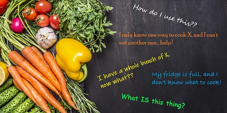 No-Waste Cooking: Ingredient-First Cooking Discussion tickets