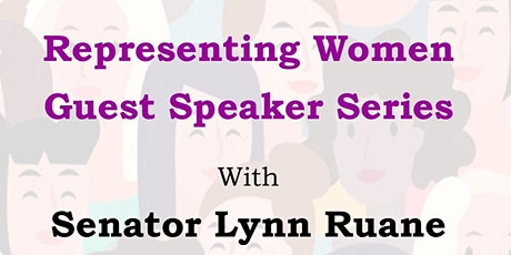 Representing Women - Guest Speaker Series - with Senator Lynn Ruane tickets