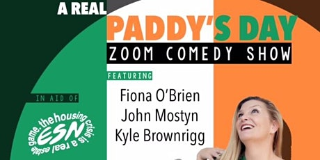 A Real Paddy's Day Zoom Comedy Show tickets
