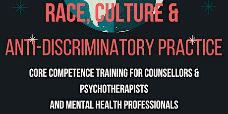 G5: ALL: Race, Culture  & Anti-Discrimination: Complete series (25hrs) tickets