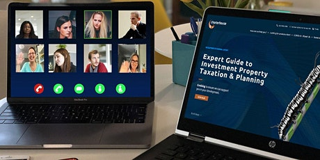 Expert Guide to Investment Property Taxation & Planning tickets