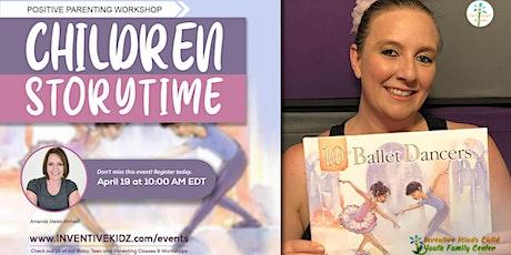 Children Storytime with Author Amanda Malek-Ahmadi (Infant to Preschoolers) tickets