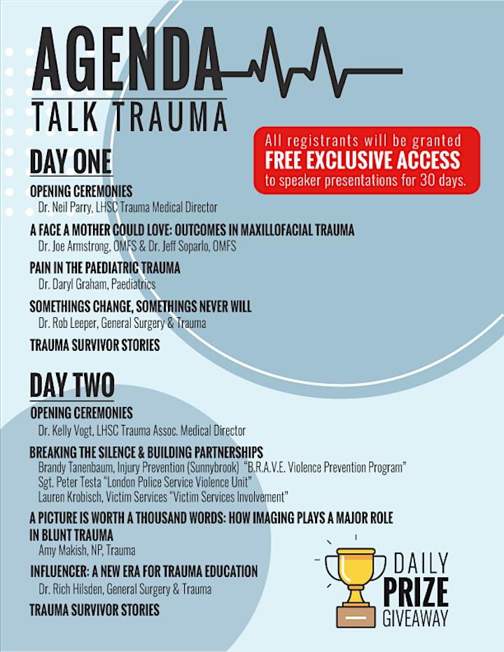 VIRTUAL Talk Trauma Conference 2021 image