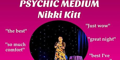 Evening of Mediumship with Nikki Kitt - Redruth tickets