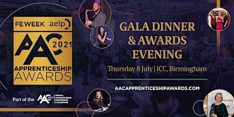 FE Week & AELP AAC Apprenticeship Awards Gala Dinner tickets