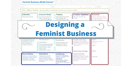 Designing Your Feminist Business with the Feminist Business Model Canvas tickets
