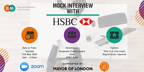 Mock Interview with HSBC Bank tickets