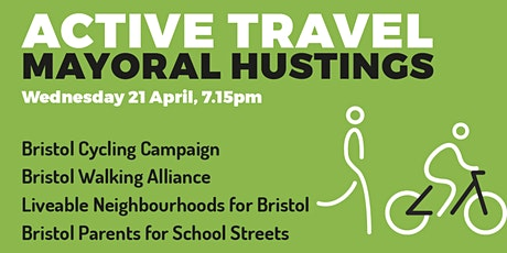 Active Travel Mayoral Hustings, Bristol tickets