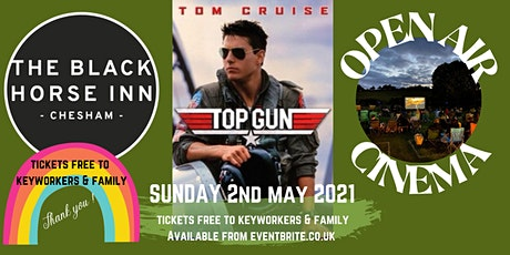 Outdoor Cinema - TOP GUN - Keyworker thank you tickets