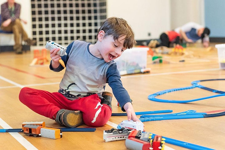 Train play sessions for autistic/ADHD children [Sutton] image