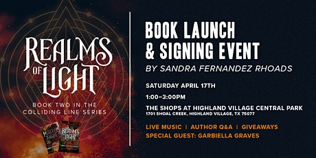 Realms of Light: Live Book Launch Event tickets