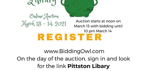 Luck Of the Library Auction tickets