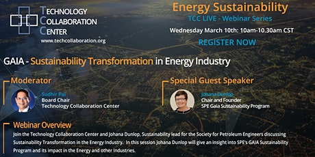 GAIA - Sustainability Transformation in Energy Industry tickets