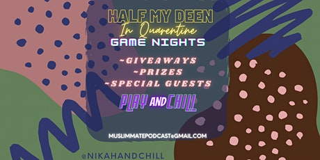 Nikah & Chill Game Night! tickets