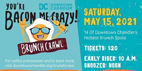 You're Bacon Me Crazy Brunch Crawl® tickets