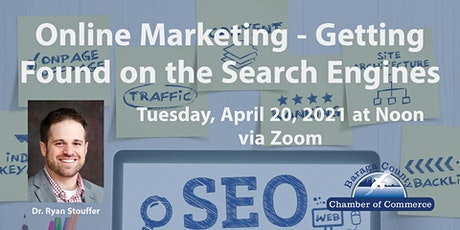 Online Marketing - Getting Found on the Search Engines tickets
