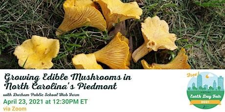 Growing Edible Mushrooms in North Carolina's Piedmont tickets