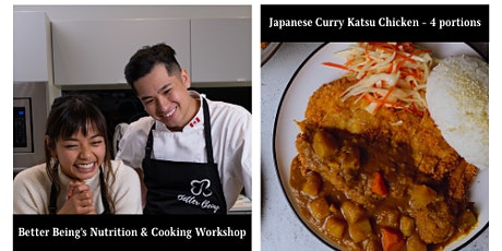 Cooking & Nutrition Class : Japanese Curry Katsu Chicken tickets