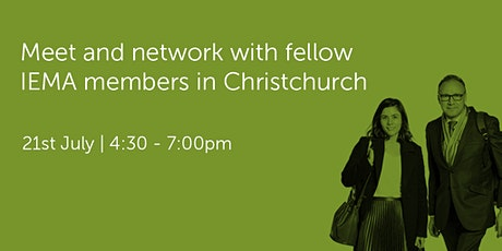 NZ210721 New Zealand: Christchurch Networking Event tickets