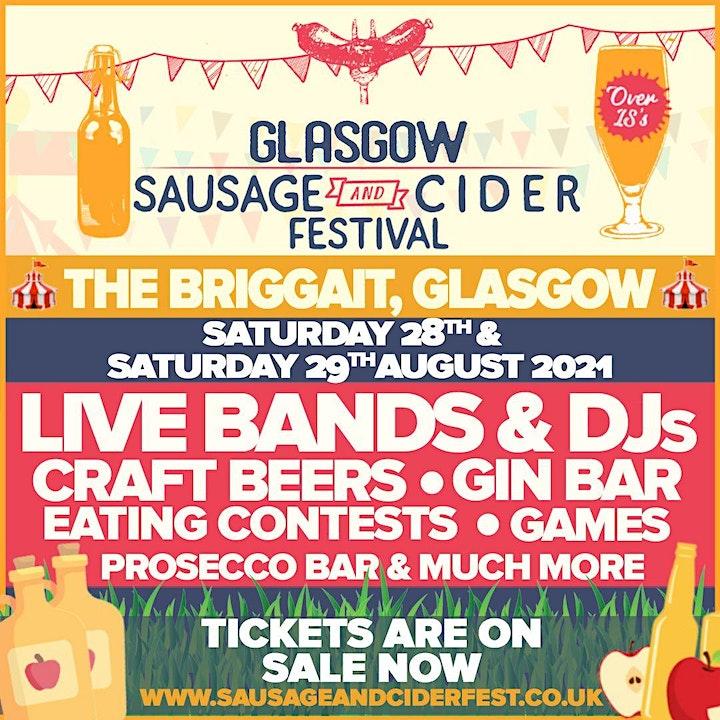 Sausage And Cider Fest - Glasgow image
