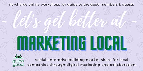 g2g Marketing Local  - 5 ways to connect your local company to customers tickets