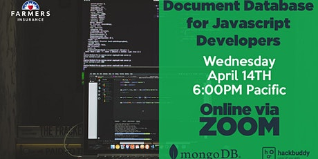 Document Database for Javascript Developers with MongoDB tickets