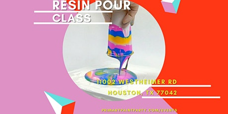 Resin Pour Class tickets