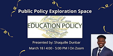 Public Policy Exploration Space tickets