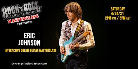 Eric Johnson Guitar Masterclass bilhetes