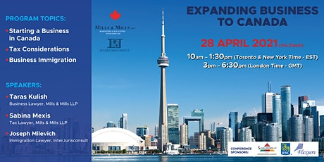 Expanding Business to Canada tickets