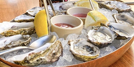 $19 Bottle of Wine & 6 Oysters Happy Hour Experience tickets