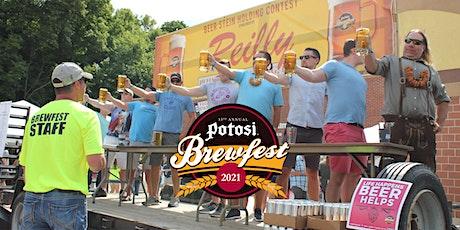 13th Annual Potosi Brewfest tickets