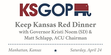 KSGOP Keep Kansas Red Dinner tickets