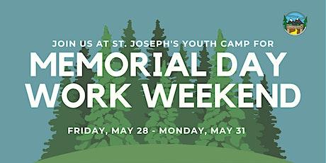 Memorial Day Work Weekend tickets
