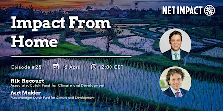 Impact From Home #23 | Investing in Climate Adaptation and Resiliency tickets