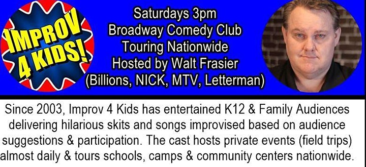 IMPROV 4 KIDS Off Broadway Live from Times Square image