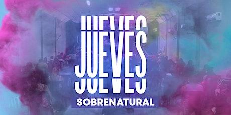 Jueves Sobrenatural entradas
