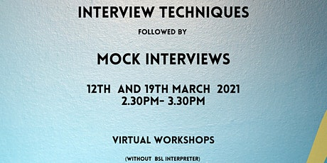 Interview Techniques tickets