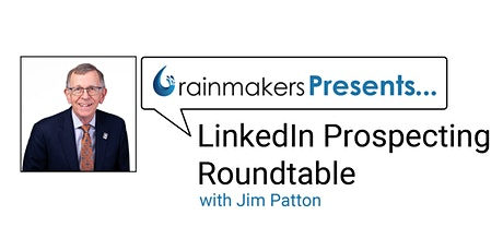 LinkedIn Prospecting Roundtable tickets