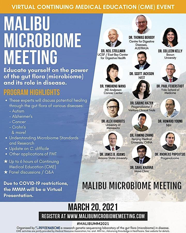 Malibu Microbiome Meeting (CME, Virtual) image