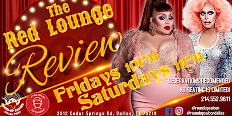 Saturday Night Red Lounge Review tickets